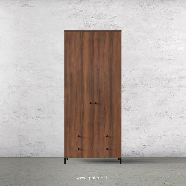 Stable 2 Door Wardrobe in Teak Finish – DWRD003 C3