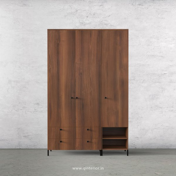 Stable 3 Door Wardrobe in Teak Finish – TWRD003 C3