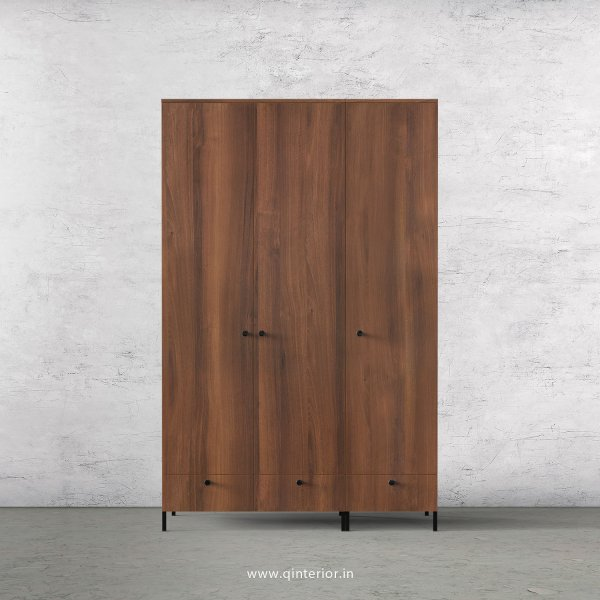 Stable 3 Door Wardrobe in Teak Finish – TWRD002 C3