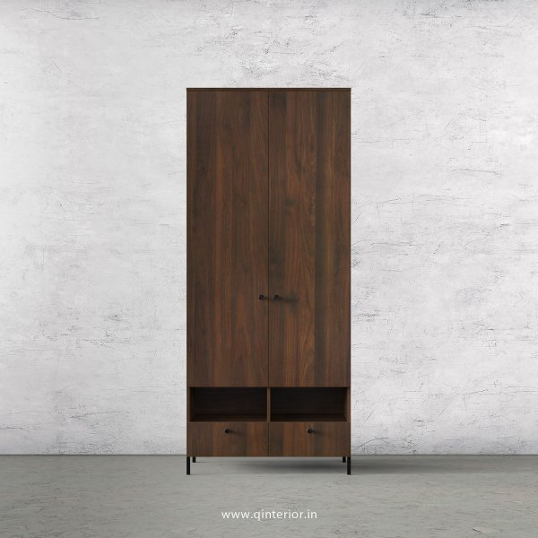 Stable 2 Door Wardrobe in Walnut Finish – DWRD005 C1