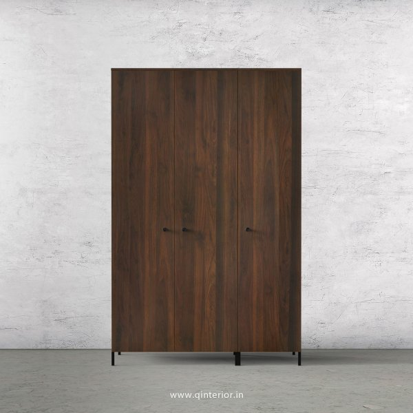 Stable 3 Door Wardrobe in Walnut Finish – TWRD001 C1