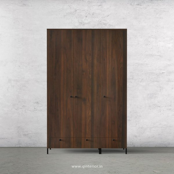 Stable 3 Door Wardrobe in Walnut Finish – TWRD002 C1