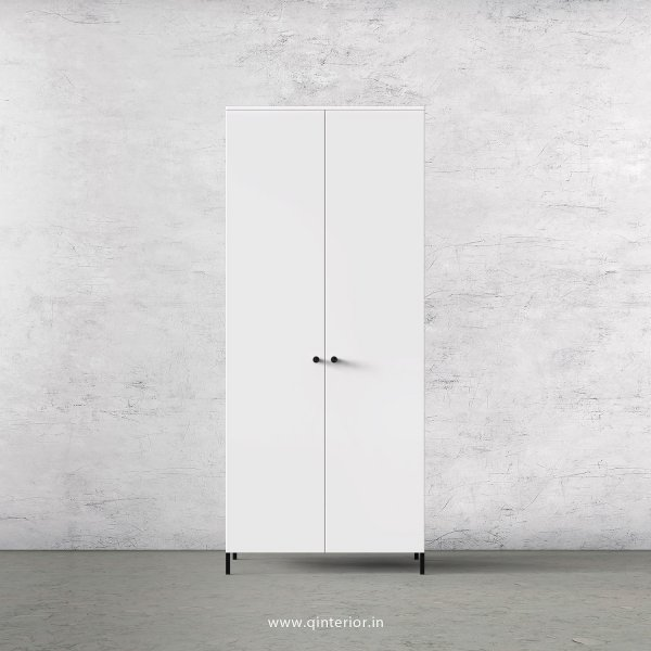 Stable 2 Door Wardrobe in White Finish – DWRD001 C4
