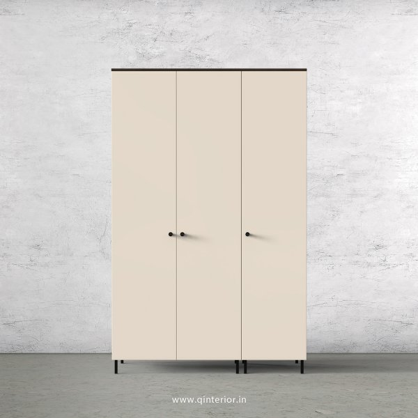 Lambent 3 Door Wardrobe in Walnut and Ceramic Finish – TWRD001 C7