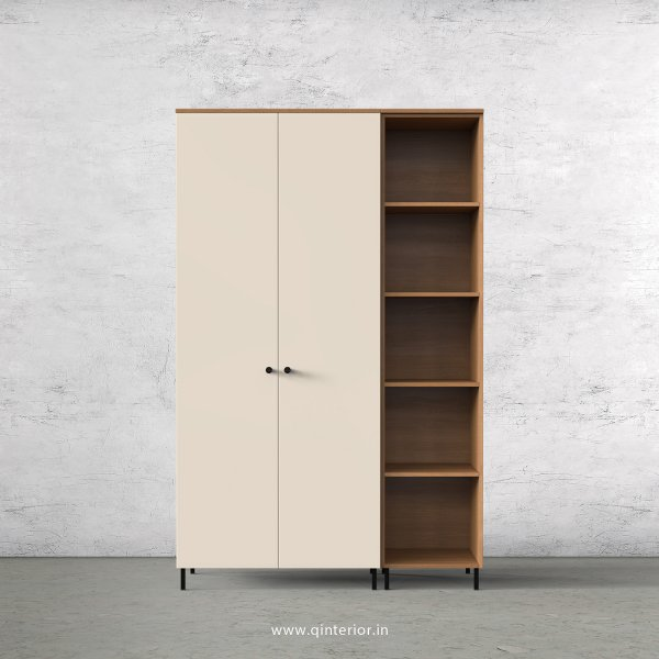 Lambent 3 Door Wardrobe in Oak and Ceramic Finish – TWRD012 C5