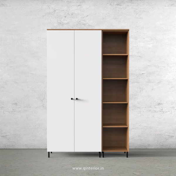 Lambent 3 Door Wardrobe in Oak and White Finish – TWRD012 C8