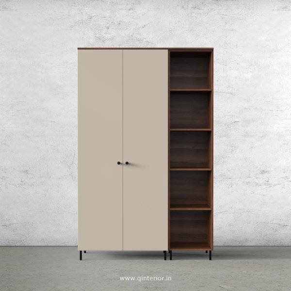 Lambent 3 Door Wardrobe in Teak and Irish Cream Finish – TWRD012 C11