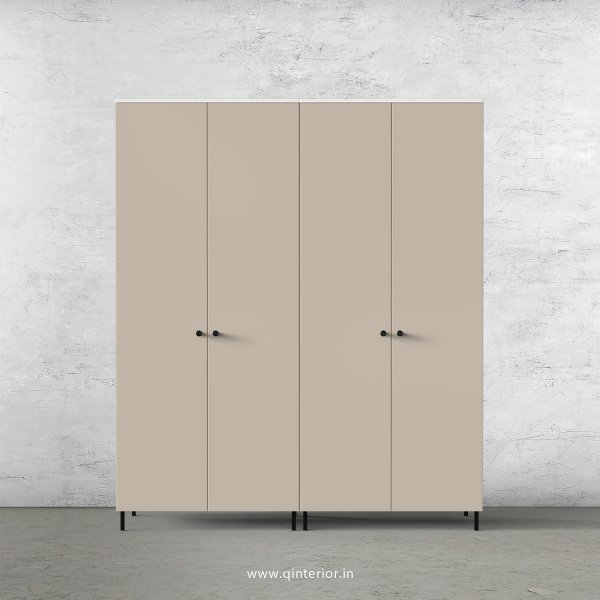 Lambent 4 Door Wardrobe in White and Irish Cream Finish – FWRD001 C88