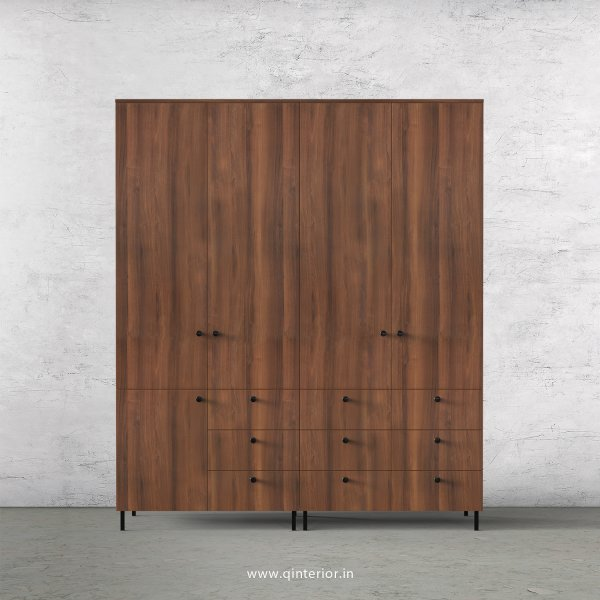 Stable 4 Door Wardrobe in Teak Finish – FWRD006 C3
