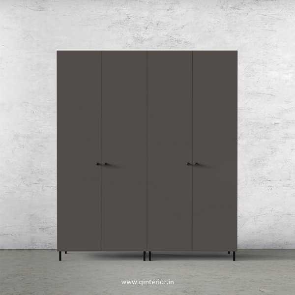 Lambent 4 Door Wardrobe in White and Slate Finish – FWRD001 C16