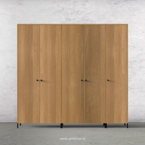 Stable 5 Door Wardrobe in Oak Finish – WRD001 C2