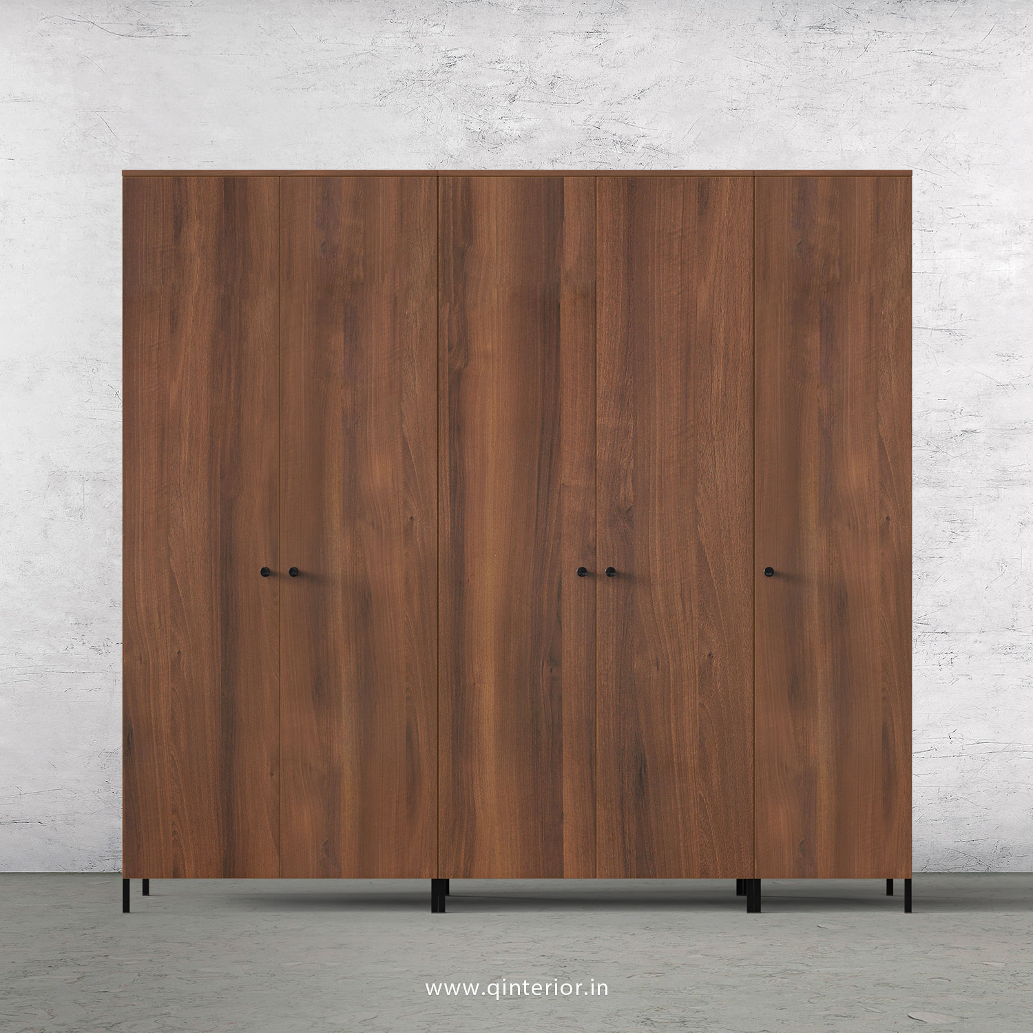 Stable 5 Door Wardrobe in Teak Finish – WRD001 C3