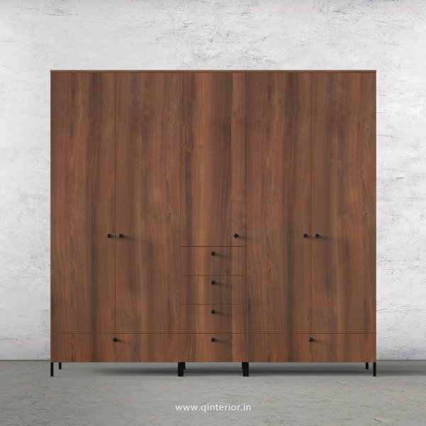 Stable 5 Door Wardrobe in Teak Finish – WRD003 C3