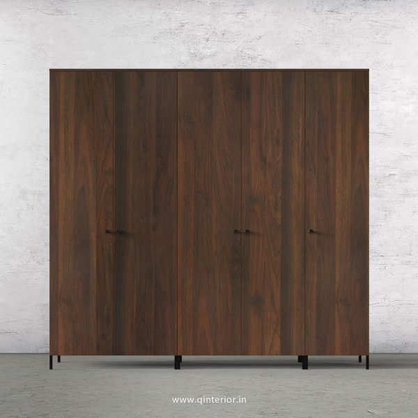 Stable 5 Door Wardrobe in Walnut Finish – WRD001 C1