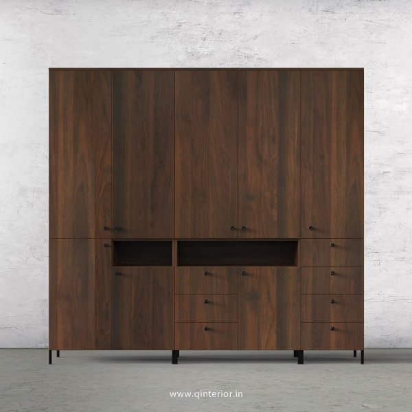 Stable 5 Door Wardrobe in Walnut Finish – WRD010 C1