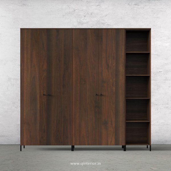Stable 5 Door Wardrobe in Walnut Finish – WRD012 C1