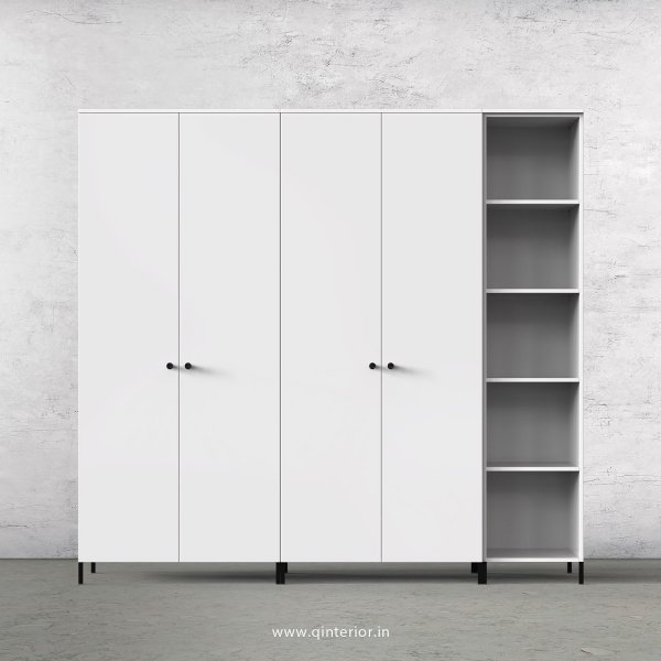Stable 5 Door Wardrobe in White Finish – WRD012 C4