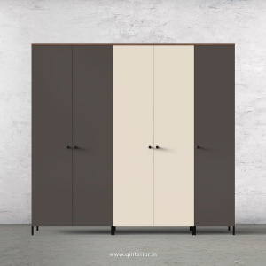 Motley 5 Door Wardrobe in Teak multi color Finish - WRD001 C36