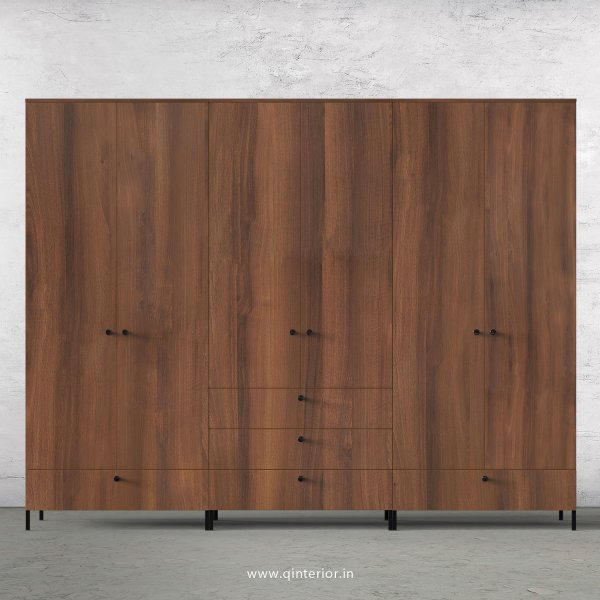 Stable 6 Door Wardrobe in Teak Finish – WRD016 C3