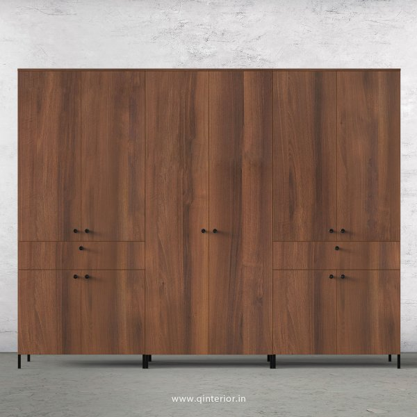 Stable 6 Door Wardrobe in Teak Finish – WRD022 C3