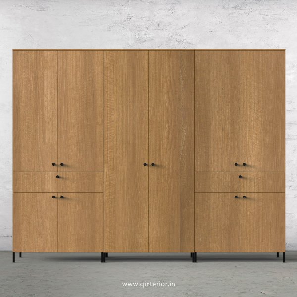Stable 6 Door Wardrobe in Oak Finish – WRD022 C2