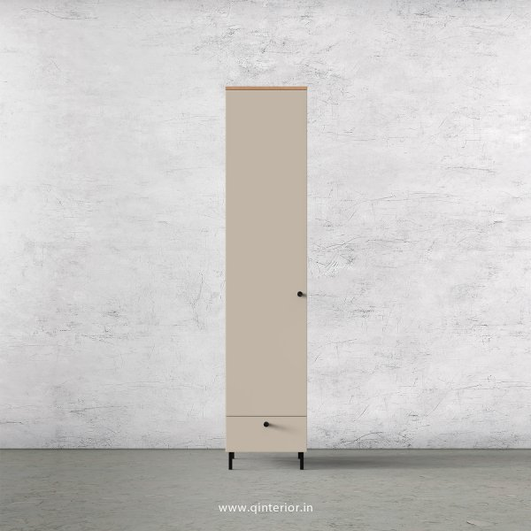 Lambent 1 Door Wardrobe in Oak and Irish Cream Finish – SWRD002 C21