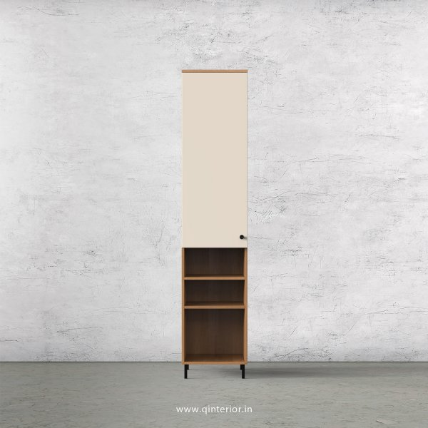 Lambent 1 Door Wardrobe in Oak and Ceramic Finish – SWRD011 C5
