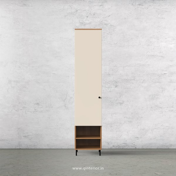 Lambent 1 Door Wardrobe in Oak and Ceramic Finish – SWRD017 C5