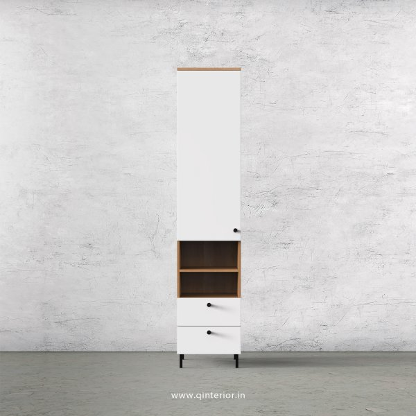 Lambent 1 Door Wardrobe in Oak and White Finish – SWRD013 C8