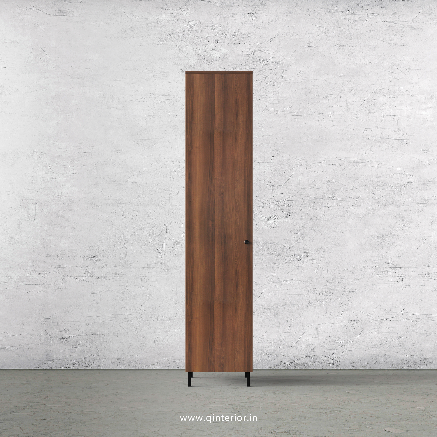 Stable 1 Door Wardrobe in Teak Finish – SWRD001 C3