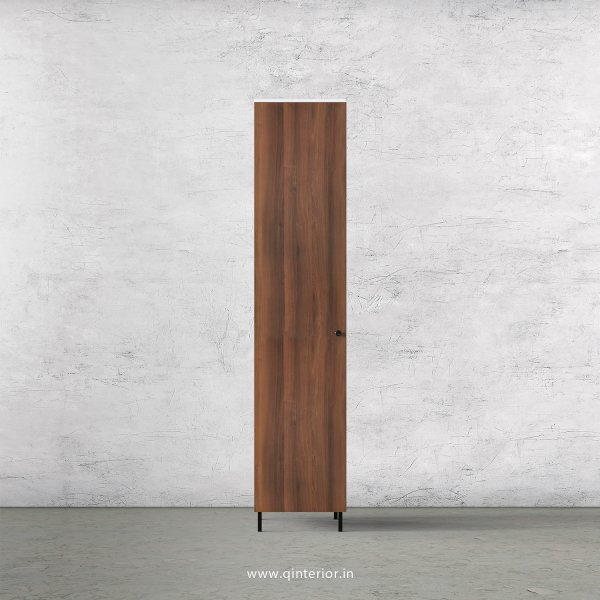 Lambent 1 Door Wardrobe in White and Teak Finish – SWRD001 C9