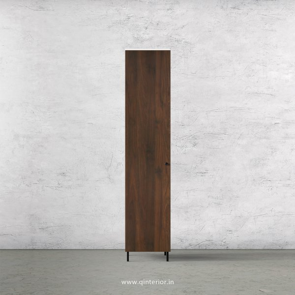 Lambent 1 Door Wardrobe in White and Walnut Finish – SWRD001 C67