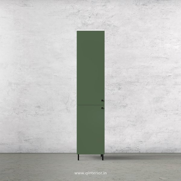 Lambent 1 Door Wardrobe in White and English Ivy Finish – SWRD009 C82