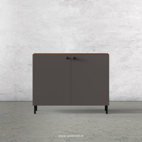 Lambent Washbasin Cabinet in Teak and Slate Finish – WBC001 C15