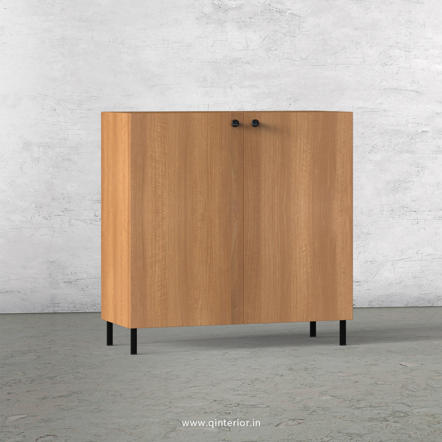 Stable Washbasin Cabinet in Oak Finish – WBC002 C2