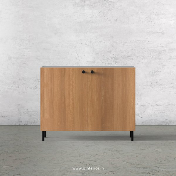 Lambent Washbasin Cabinet in White and Oak Finish – WBC001 C86