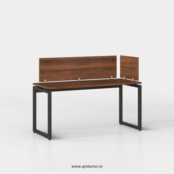 Aaron Work Station in Teak Finish - OWS007 C3