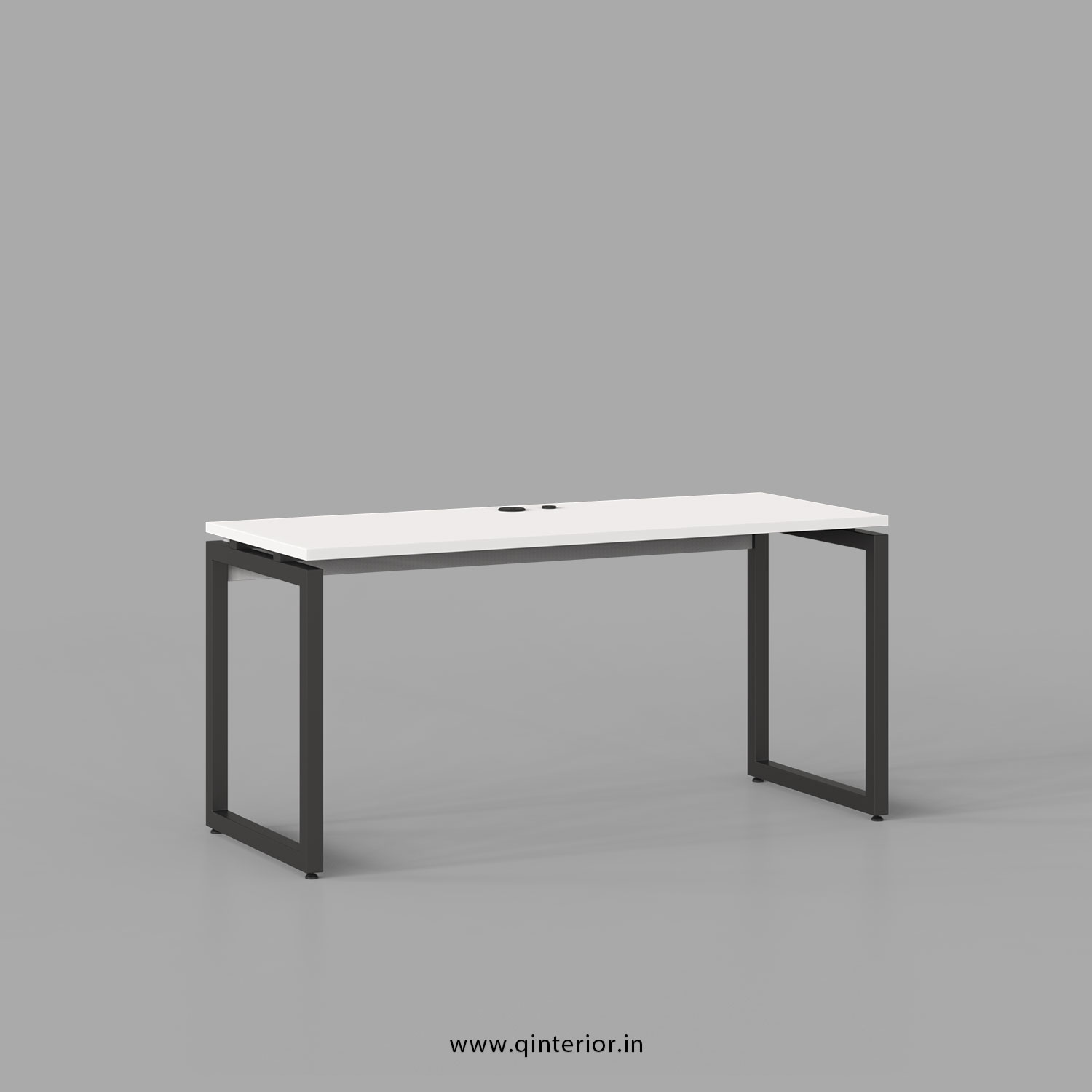 Aaron Work Station in White Finish - OWS001 C4